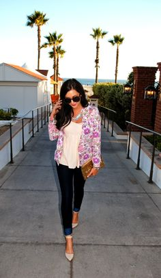 A Darling Dream Blog {Floral Blazer}