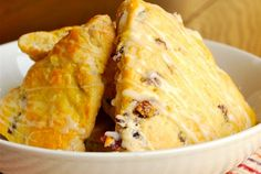 Had cranberry-orange scones while on the Marine Hwy heading to Alaska. Got hooked. Easy Chicken Parmesan, Healthy Chicken, Shredded Chicken Enchiladas, Orange Glaze Recipes, Cranberry Orange Scones, Brulee Recipe, Chicken Marsala, Love Food, Holiday Recipes