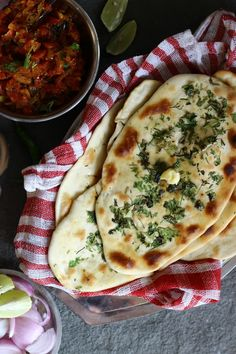 Naan and Tomato Chutney Recipe. I have tried making naan several times using recipes from the internet, cookbooks and cookery shows. But all my attempts flop...