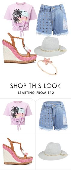 """""""Hugh"""" by hannah-graves ❤ liked on Polyvore featuring Miss Selfridge and Sophia Webster"""