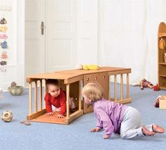 Wooden blocks, toys and furniture for Daycare and Kindergartens