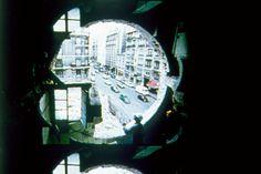 Gordon Matta Clark, Conical Intersect, 1975