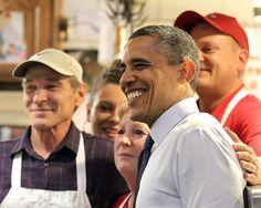 President Barack Obama visits West Side Market
