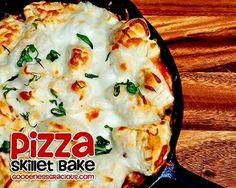 Pizza skillet bake
