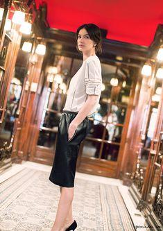 leila yavari street style paris garance dore photos