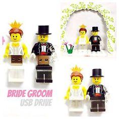 LEGO-Minifigure-8GB-USB-Flash-Drive-Custom-Bride-
