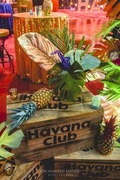 Rene 40 th Birthday! Havanna Nights Party, Havanna Party, Event Themes, Party Themes, Event Decor, Havana Nights Party Theme, Cigar Party, Mexican Party, Cuban Party Theme