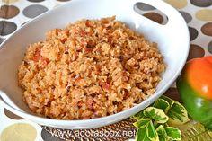 Paprika Rice (Java Rice)