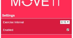 Free Technology for Teachers: MoveIt - A Chrome Extension to Keep You Active