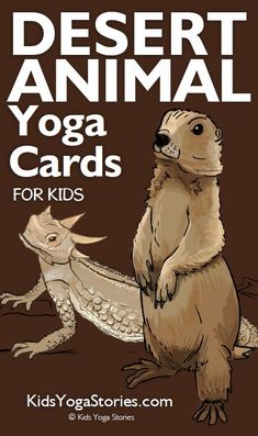 Desert Animal Yoga Cards for Kids - Trend Camping Outfits 2020 Animal Activities For Kids, Animal Crafts For Kids, Sensory Activities, Desert Animals, Wild Animals, Animal Yoga, Animal Movement, Camping Outfits, Yoga For Kids