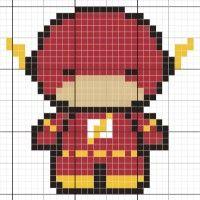 flash chibi - Stitch Fiddle