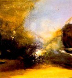 Zao Wou-Ki (1985) Huile sur toile (162 x 150)