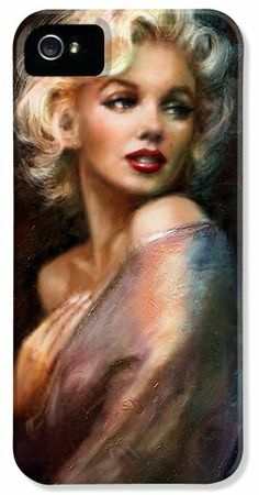 Marilyn Monroe Iphone Cases - Marilyn romantic WW 1 iPhone Case by Theo Danella