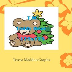 Looking for your next project? You're going to love Christmas Teddy 175x175 by designer Teresa Maddon. http://www.craftsy.com/pattern/crocheting/home-decor/christmas-teddy-175x175/172770
