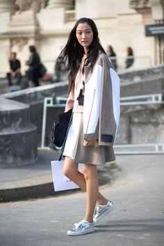 Paris Street Style Spring 2015 - Best Street Style Paris Fashion Week - Harper's BAZAAR #pfw #streetstyle #ss2015