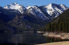 Spring is finally in Montana! Lake Como in the beautiful Bitterroot Valley of Montana!