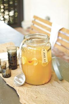 Southern Living Beverage Jar - now available at ballarddesigns.com