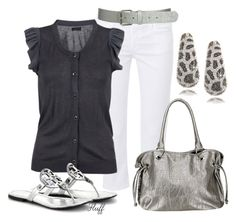 """""""windy"""" by fluffof5 ❤ liked on Polyvore featuring Kenneth Jay Lane, Goldsign, Vero Moda, Wet Seal, Tory Burch and BKE"""