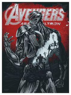"""""""Avengers: Age of Ultron"""" by JP Valderrama - Hero Complex Gallery"""