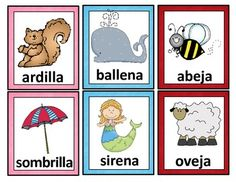 Tarjetas de RimasA set of 50 pairs of rhyming cards in Spanish. These cards can be used for bulletin boards or word walls, for instruction, or for practice in small groups and literacy stations or learning centers.  They are ideal for bilingual and dual language classrooms and for Spanish language classes.
