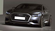 2019 Audi A6 official sketches by Parys Cybulski #cardesign #car #design #carsketch #sketch #audi #audia6 #cardesigner #vehicledesign…