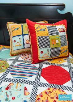 On Our Way by Riley Blake Designs #rileyblakedesigns #onourway #transportationfabric