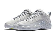 The Air Jordan 12 XII Retro Low Wolf Grey Is A Spring Time Special
