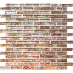 "Check out the deal on Daltile Soiree Glass Mosaics - 5/8"" x Random Pattern Aruba at GBTile Collections"