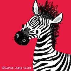Zebra Illustration, Character Art, Character Design, Animal Magic, Animal Prints, Zebras, Tigger, Children, Kids