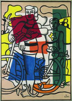 Fernand Léger | Les perroquets (Les acrobates) (The Parrots, The ...