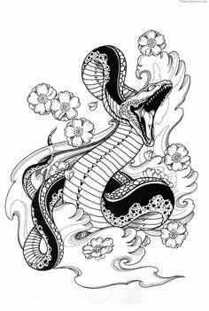 Snake Tattoo Designs Are Very Interesting Dallas  Tumbnartcom picture 3081