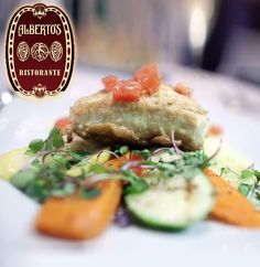 """Alberto's Ristorante in Hyannis. Over the years, we have received rave reviews from food critics from the Cape Cod Times, The Boston Globe, The Boston Herald, Cape Cod Life Magazine, Fodor's, AAA, and New York Times critic James Beard for """"...exquisite Northern Italian cuisine""""."""
