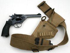 Webley with belt holster