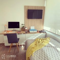 Homeoffice+Dormitorio de huespedes+ espacio para almacenamiento