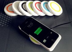 iPhone5 wireless charger QI standard | Gadget2us- DIY / DESIGN / Factory