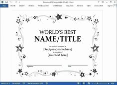 Birth Certificate Template Google Docs Awesome Certificate Template Google Docs 2 Awards Certificates Template Certificate Templates Birth Certificate Template