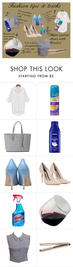 """Fashion tips and tricks"" by tamara-sucha on Polyvore featuring Michael Kors, Nivea, Semilla, Sophia Webster, Chanel and DIVA"