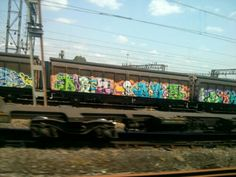 #graffiti #train London 2013 #bombing