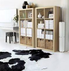 Advertorial: Bring Life to Your Living Room with IKEA - Ikae-deko Expedit Bookcase, Kallax Shelving, Ikea Shelves, Ikea Kallax Hack, Ikea Kallax Regal, Interior Design Living Room, Living Room Designs, Ikea Basket, Cama Ikea