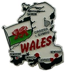 MGI Companies, Inc. - Wales (GB) - International Country Shaped Map Magnets, $2.89 (http://www.internationalgiftitems.com/magnetic-map-wales-gb-refrigerator-magnets/)