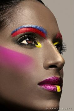 Fantasy make up. Maquillaje fantasía AVANT GARDE MAKEUP | Beauty – Avant Garde