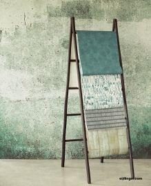 Eijffinger Resource Wallpower 369151 Green Weathered Wall