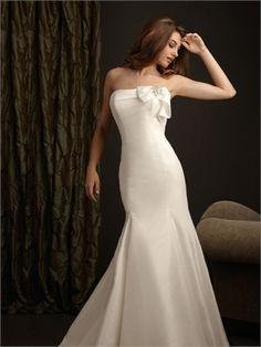 Elegent Strapless Highlight The Curve Glamour Stain Mermaid Wedding Dress WD1683 www.tidebridaldresses.com $329.0000