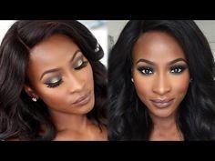 Autumn/ Fall Makeup using MAC Stone Lipstick - YouTube