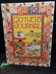 A Mothers Journal Collection of Family Memories Hardcover Mary Engelbreit  #MaryEngelbreit