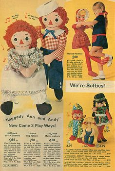 Had that doll in the upper righthand side..mama got it from the aldens catalog