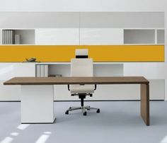 Minimalist Executive Furniture for Office Interior Design by Christian Horner, – Modern Office Design Contemporary Office Desk, Modern Office Design, Office Furniture Design, Contemporary Interior Design, Contemporary Furniture, Bureau Design, Corporate Interior Design, Medical Office Design, Executive Office