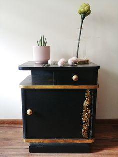 Home Staging, Furniture Makeover, Entryway Tables, Retro, Art Deco, Cabinet, Diy, Entrepreneurship, House