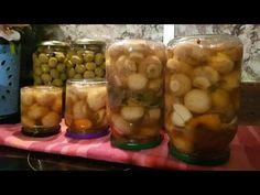 Ciuperci marinate.Mai buna ca in Magazin.Cea mai simpla rețeta făcută în casă.Super nu vei regretă - YouTube Mai, Pickles, Cucumber, Youtube, Ideas, Food, Essen, Meals, Pickle