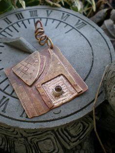 Bronze pendant (2011) - SOLD